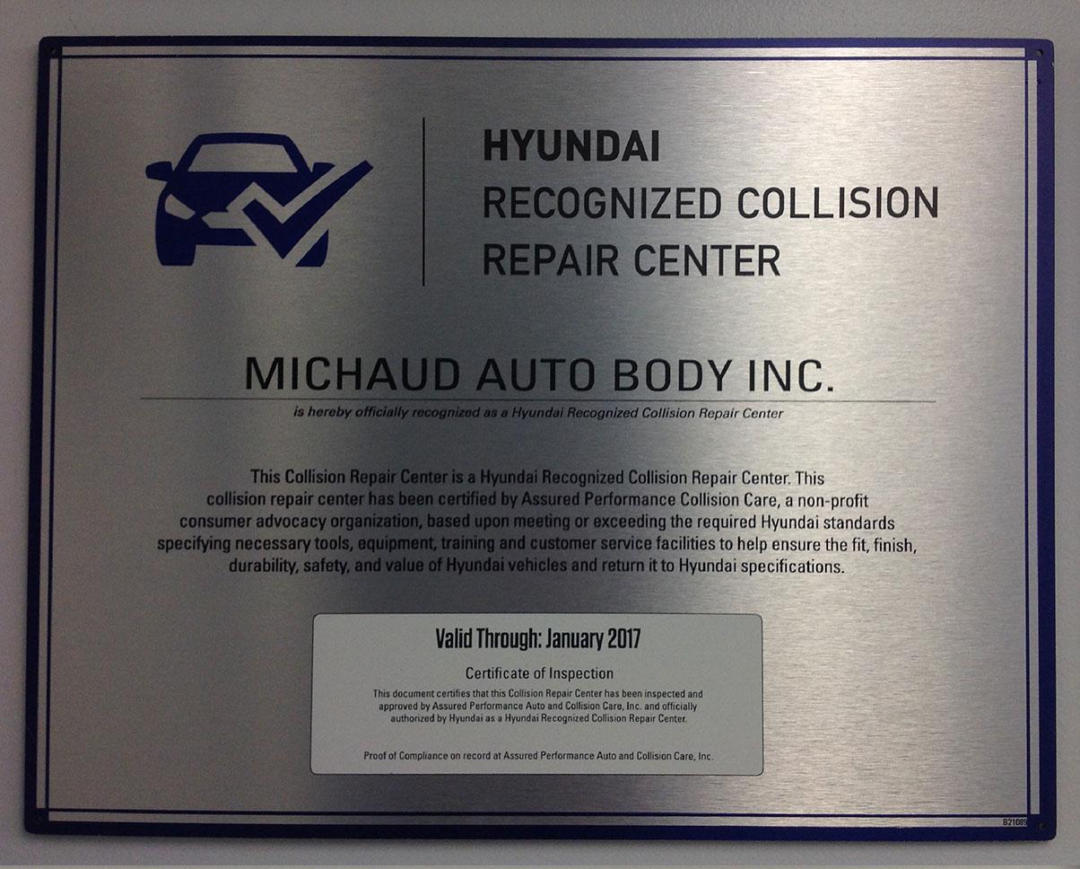 Hyundai Certification