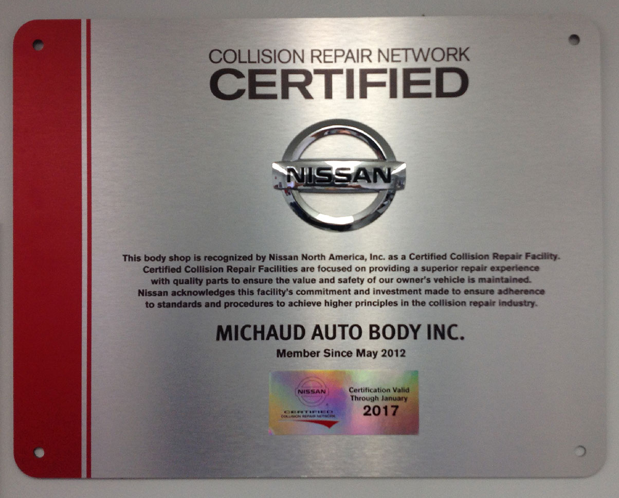 Nissan Certification